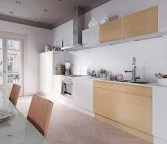cuisine blanche et bois modele cuisine blanc laqué cuisine bois et blanc laqu