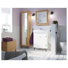 Bathroom Bench Storage by