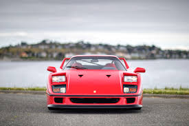 f40 for sale price 1990 f40 silver arrow cars ltd