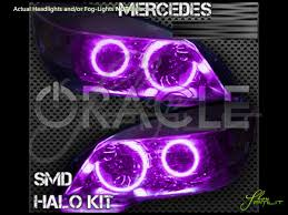 mercedes aftermarket headlights 10 13 mercedes sprinter led colorshift halo rings headlights