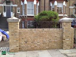 brick garden walls bricklayers in worthing builders worthing