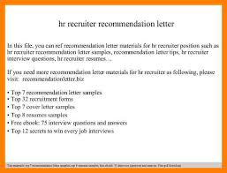 cover letter to a recruiter sample refusing vacations cf