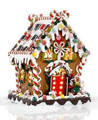 kurt adler 8 pre lit gingerbread house