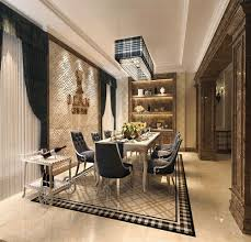 white marble floor tile manufacturer for luxury dining room decor