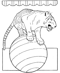 Pictures Of Circus Animals Az Coloring Pages Printable Coloring Circus Coloring Page