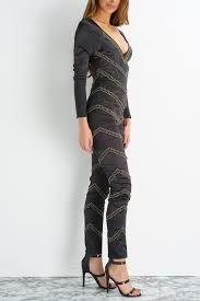 black and gold jumpsuit chevron pattern gold jumpsuit black gold wantmylook