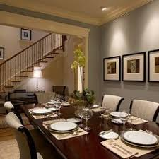 Dining Room Paint Ideas Dining Rooms Lilac Walls Tray Ceiling Black White Art White