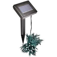 flower pot solar light solar powered 100 led string lights garden coopers of stortford