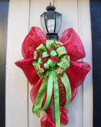 large lighted christmas bow xl christmas decoration for l posts outdoor light fixtures