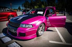 pink audi a4 audi a4 b5 facelift by marcusliedholm