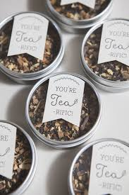 learn how to make these tea wedding favors favors teas
