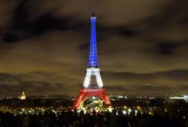 French Flag Eiffel Tower French Father Explains Paris Attacks To Young Son Watch
