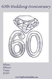 60th wedding anniversary invitations 60th wedding anniversary invitation wording lake side corrals