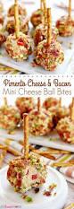 pimiento queso y tocino mini bola de queso bites las mini bolas