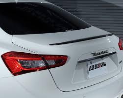 leap design ld ghibli rearspoiler leap design carbon fiber rear spoiler