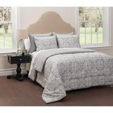 Black And White Bedroom Comforter Sets Bedding Sets Walmart Com