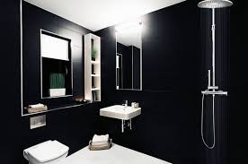 exclusive black scheme bathroom renovation ideas with head shower