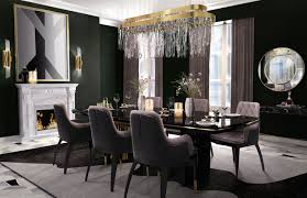 elegant dining room modern dining room toronto by beyond the