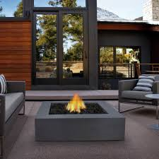 Restaurant Patio Tables by Furniture Modern Propane Fire Pit Table With Black Iron Legs For
