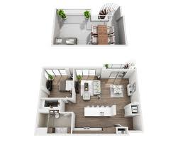 One Bedroom Apartment Interior Design The Residences At Pacific City Apartment Floor Plans And Pricing