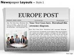 newspaper theme for ppt newspaper layouts style 2 ppt 3 powerpoint shapes powerpoint