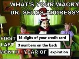 Credit Card Meme - no scams here funny memes daily lol pics