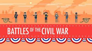 battles of the civil war crash course us history 19 youtube