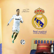 Decoration Star Wall Decals Home by Soccer Star Wall Sticker Football Wall Decal For Kids Boys Room