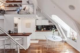 wohnideen in dachgeschoss dachgeschoss loft in stockholm kreative wohnideen ideen