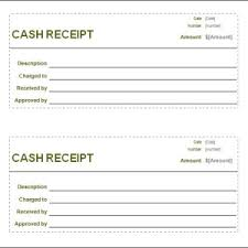 blank rent and sales receipt template helloalive