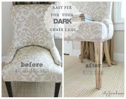 Knock Off No Sew Dining Best 25 Kitchen Chair Redo Ideas On Pinterest Kitchen Chair