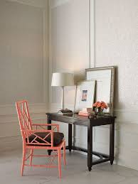 Bedroom Writing Desk Woodbridge Furniture For A Traditional Bedroom With A Red Chair