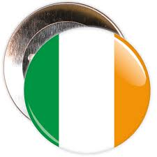 Irrland Flag Ireland Flag Badge U2013 The Badge Centre