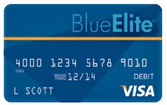 elite debit card order screen
