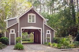 modern garage plans exterior rustic detached garage design in the forest surrounded