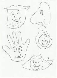 99 best zmysły images on pinterest worksheets emojis and preschool