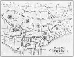 Stirling Scotland Map Varied Family History Items On The Monikie Scotland Website