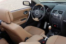 renault interior renault megane cabriolet 2003 2005 features equipment and
