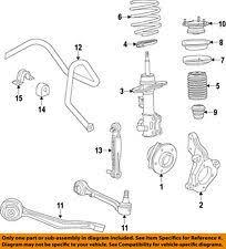 cadillac ats suspension cadillac gm oem 13 15 ats front suspension strut 23219709 ebay