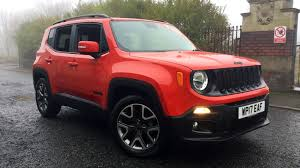 jeep red 2017 jeep renegade 1 6 multijet night eagle ii 5dr diesel hatchback 2017