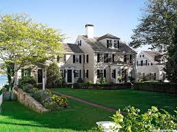 new houses being built with classic new england style new england classics a vintage edgartown restoration boston