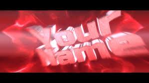 free red flashy intro template 208 cinema 4d u0026 adobe after