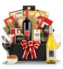 wine basket royal bereavement wine basket gifttree