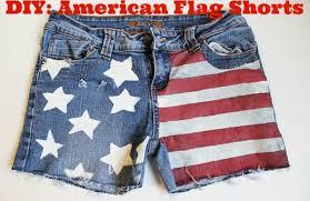 Smerican Flag Diy American Flag Shorts College Fashion
