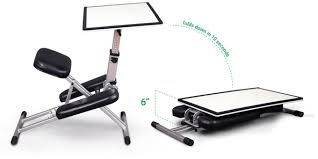 the edge desk stow u0026 go portable desk easel is ready for the