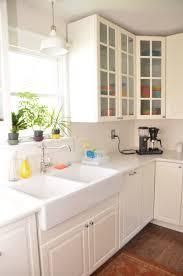 light bright ikea kitchen tour u2014 bit u0026 bauble
