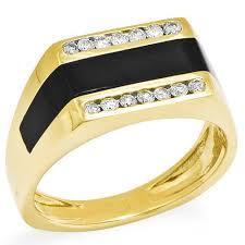 men s rings men s white yellow and gold rings