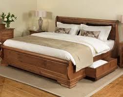 King Beds Frames Brilliant Wooden Bed Frames King Size Unique Frame For Modern