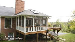 Enclosed Backyard Inspiring Screen Porches Pictures Porch Decking And Screened