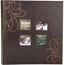 500 4x6 photo album pioneer high capacity sewn fabric and leatherette